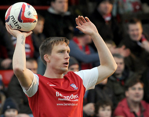York City's Dan Parslow