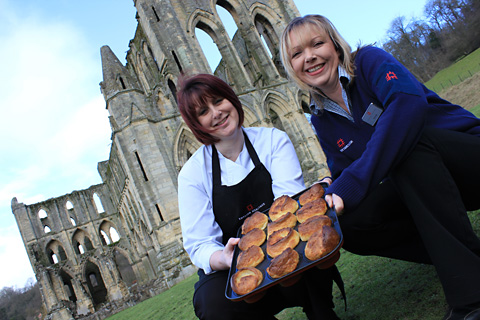 British Yorkshire Pudding day at Rievaulx Abbey
