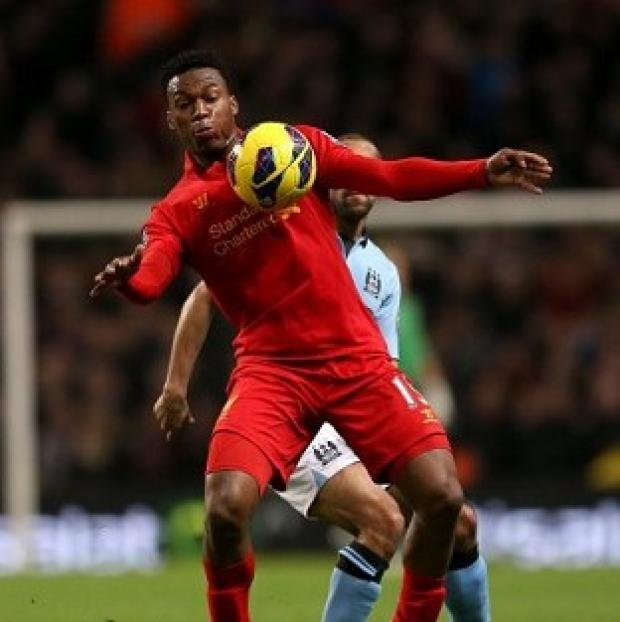 Daniel Sturridge is a doubt for England's friendly with Brazil