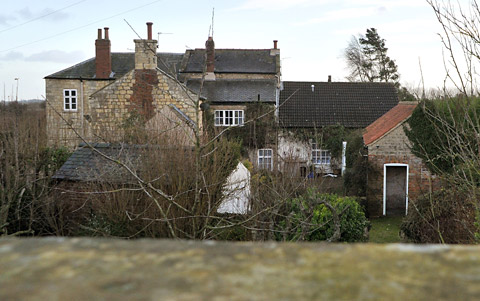 The house near Tadcaster where 800 cannabis plants were found