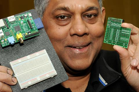 York electronics entrepreneur Seggy Segaran, who will be exhibiting his latest venture at the Innovation Showcase at Venturefest