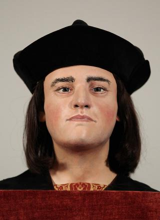 A reconstruction of the face of King Richard III