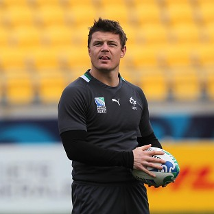 Brian O'Driscoll is excited about the prospect of being a Lion again