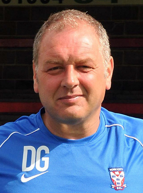 York City assistant manager Darron Gee