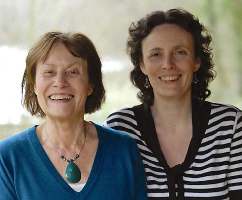 York author Pauline Kirk and daughter Jo Summers, who write crime novels under the nom de plume of PJ Quinn