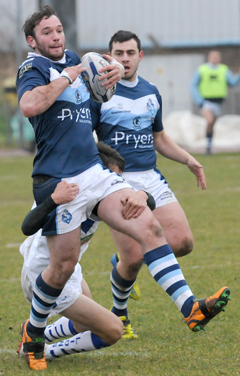 Knights 34, Swinton Lions 12