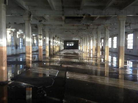 "The Terry's factory, where ""urban explorers"" took this picture"