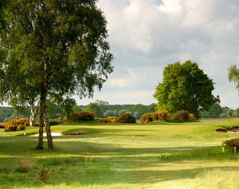 Fulford Golf Club's tenth hole