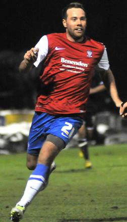 York City striker Ben Everson, left, has gone north-east for match sharpness