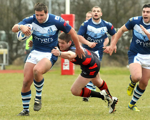 York City Knights 14, Halifax 18
