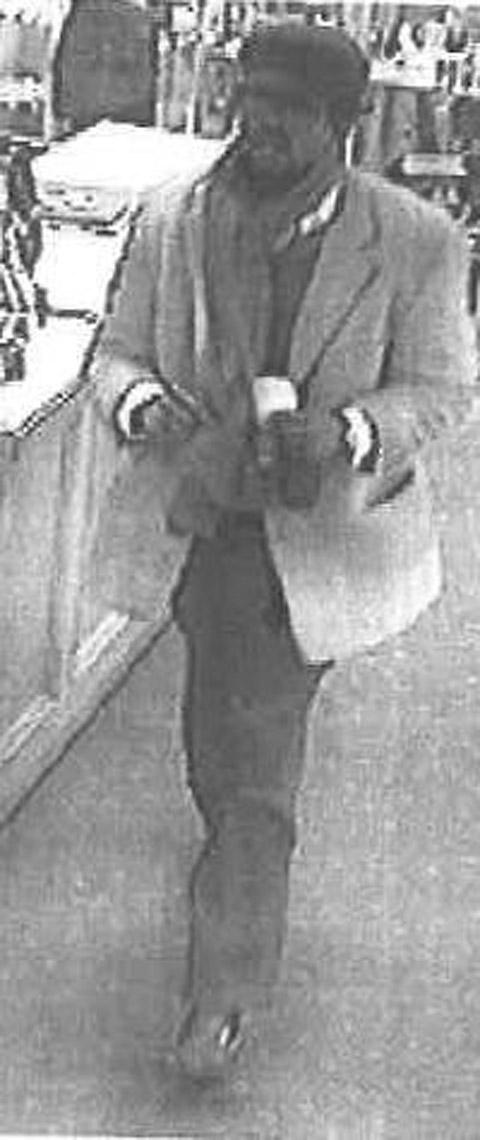 CCTV image released after antique coin theft