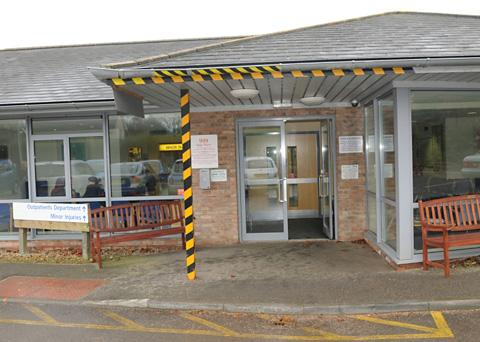 Malton Hospital's minor injuries unit