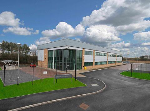 The new MDL building at Northminster Business Park