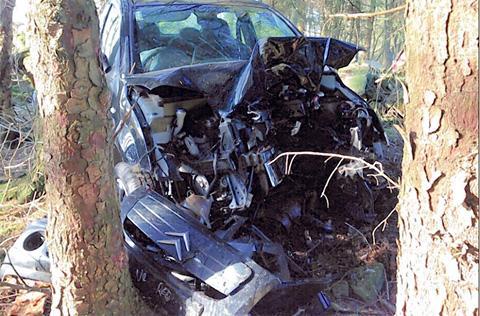 Driver's lucky escape from serious crash near Harrogate   York Press