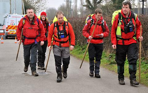 Scarborough and Ryedale Mountain Rescue team in Dunnington
