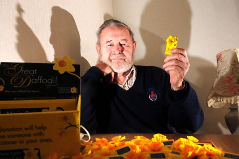 Joseph French, 81, raises funds for Marie Curie after his wife died from cancer