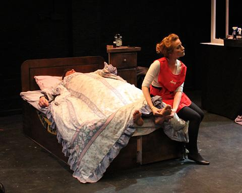 Anna Soden as teenage chambermaid Amy