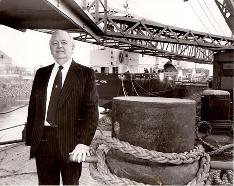 Norman Acaster spent his life in shipbuilding