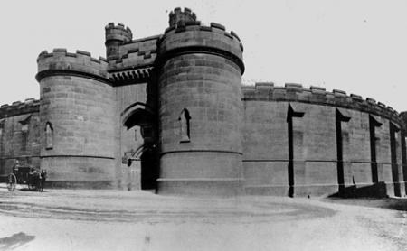 York Press: York Prison gatehouse from the outside, probably taken soon after the civil prison closed in about 1900