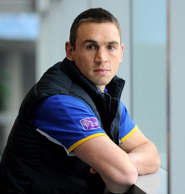 Kevin Sinfield, captain of England and Leeds Rhinos