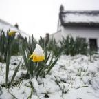 The cold weather is expected to continue through the Easter weekend