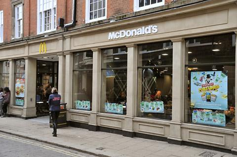 McDonald's in Blake Street, York