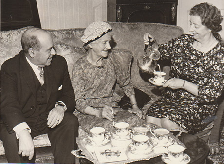 York Press: The Lord Mayor and Lady Mayoress, Ald and Mrs WE Milburn, entertained Mrs Crichton to coffee at the Mansion House in May, 1967