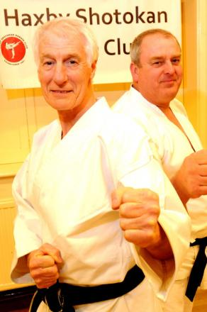 Chief instructor Mike Gude, left, and founder Ian Shaw