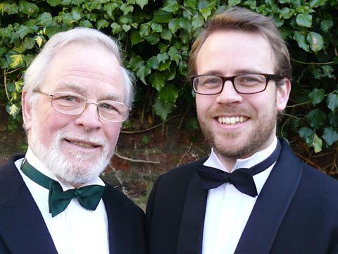 Graham and Richard Kay, who will be singing at the Joseph Rowntree Theatre