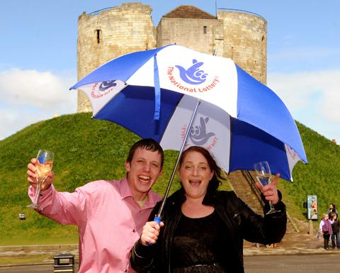 £1m Lottery scratchcard joy for York couple