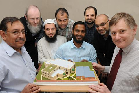 Members of the York Mosque and Islamic Centre meet York Central MP Hugh Bayley, right. From left, Asad Khan, George Stubbings, Inmam, Abid Salik, Ali Zafar, Ismail Miah, Kashif Ahmed and Mahboob Surve