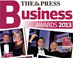 Enter The Press Business Awards 2013