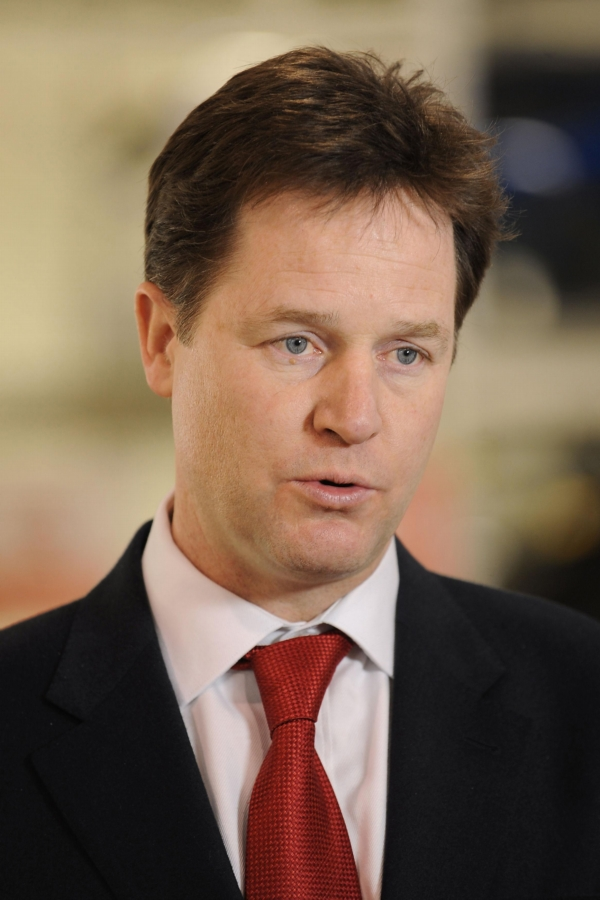 Deputy Prime Minister Nick Clegg, who launched the Government's new action plan on mental health... but will any of these measures actually happen, asks letter writer David Smith