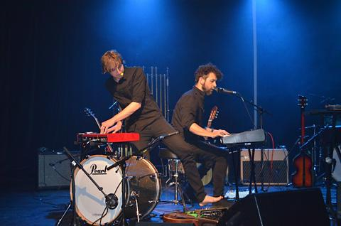 York Press: Daniel Holdsworth and Aidan Roberts perform Tubular Bells For Two
