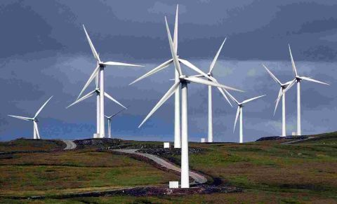 Wind turbines generated 11 per cent of our power in February
