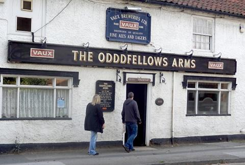 The Odddfellows Arms at Carlton, near Selby