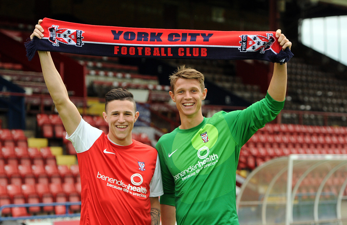 York City boss Nigel Worthington swoops to sign striker Wes Fletcher and keeper Chris Kettings