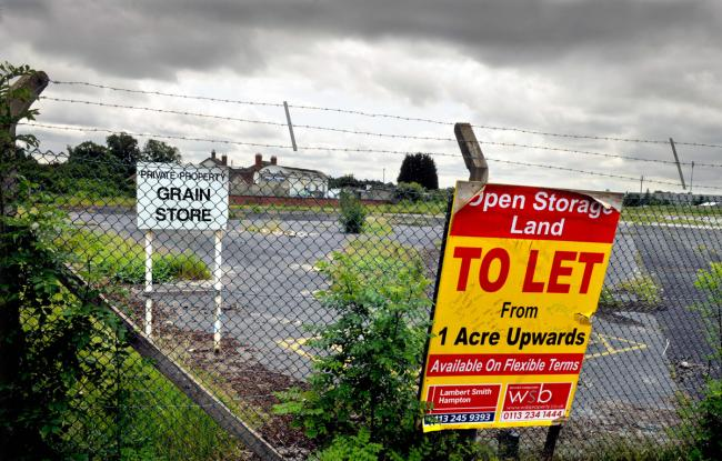The former grain store at Clifton, where a plan to build 200 new homes may now go ahead