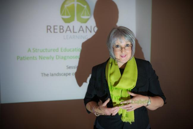 Elaine Wilson who has devised the Rebalance eating Plan