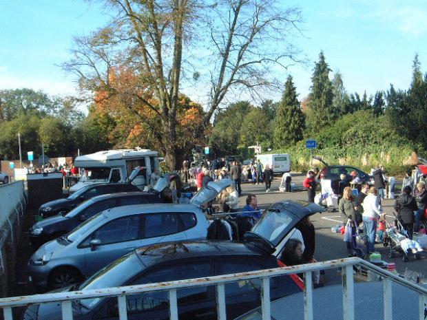 York Press: Charity Car Boot Sale supported by Autotest in aid of Epsom Medical Equipoment Fund