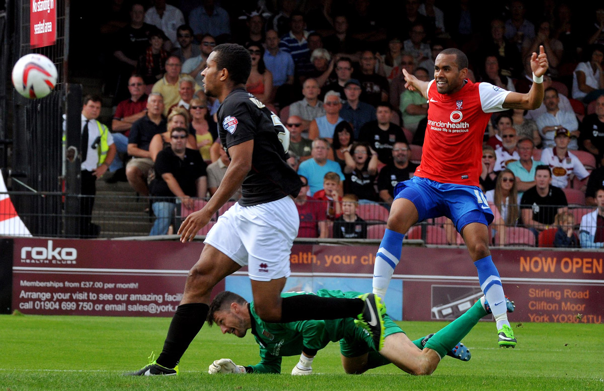 York City winger Ashley Chambers signs for Cambridge United