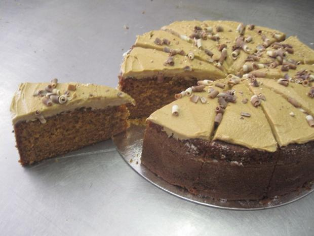 York Press: Spiced caramel cake