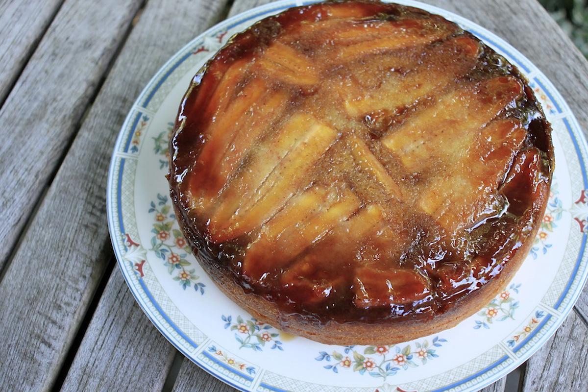 ... down banana upside down cake banana coconut upside down banana maple