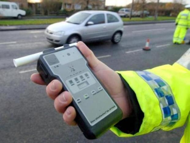 Driver caught at almost 5 times the drink-drive limit