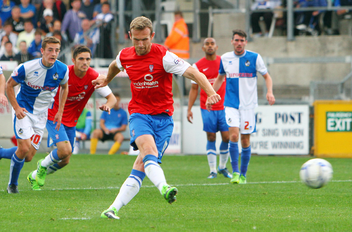 Striker Ryan Jarvis is thriving on the fight for starting places in York City's forward line