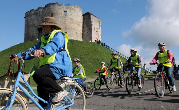 Last year's Sky Ride event in York