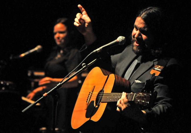 The Magic Numbers perform at Pocklington Arts Centre