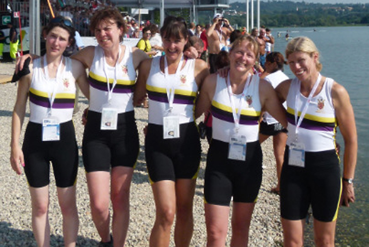 ... storm to victory at World Masters regatta in Italy (From York Press