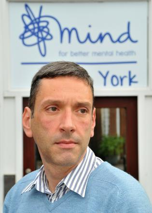 David Smith, chief executive of York Mind
