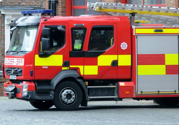 Chicken shed fire near Easingwold